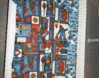 Apron Christmas and Fall Reversible