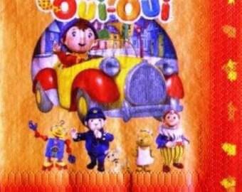 NAPKIN Oui - Oui and his friends #E075