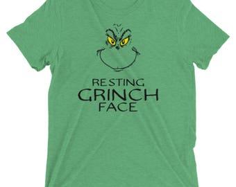 "Short sleeve ""Resting Grinch face"" t-shirt"