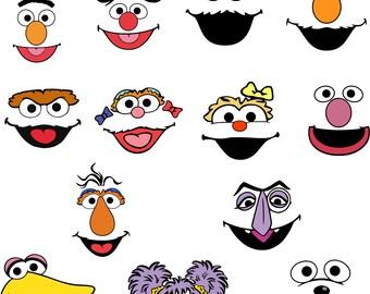 Sesame Street.Svg.Dfx.Eps.Pdf.Png.