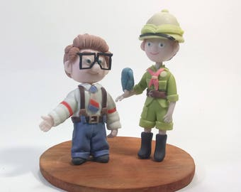 Carl And Ellie Wedding Cake Topper Cake Topper Carl