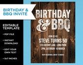 Invite for him, Birthday ...