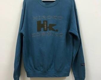 Vintage Hiroko Koshino Big Logo Spellout Sweatshirt