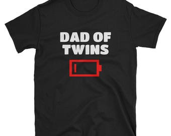 Dad Of Twins Funny Smart Quote T-shirt New Father Gift Idea