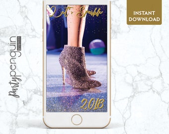 INSTANT DOWNLOAD SNAPCHAT Filter | New Year's Eve Geofilter | Holiday Party Filter | Sparkle Party Geofilter | Let's Sparkle Geofilter