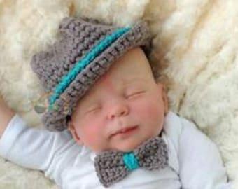 hat+ bow tie