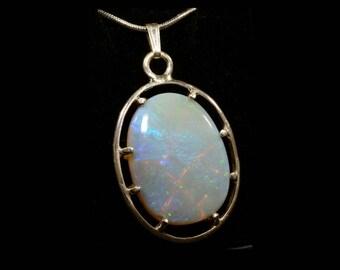 Handmade Coober Pedy Opal Pendant 001C