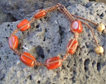 Shambala bracelet with Jasper Stones