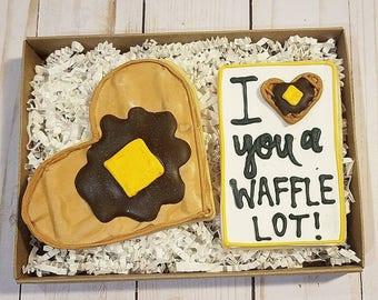 I love you a waffle lot box set