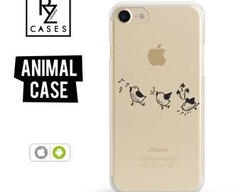 Birds Phone Case, iPhone 7 Case, Cute Animal Phone Case, Birds Case, Gift for Her, iPhone 7 Plus, iPhone 6S, iphone 6 plus, Gift For Mum