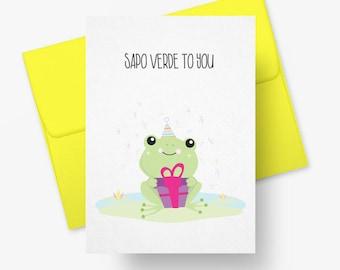 Sapo Verde to You