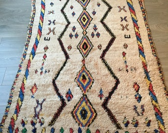 Free Shipping! AZILAL Rug 8.8'x4.9' Vintage with Losanges