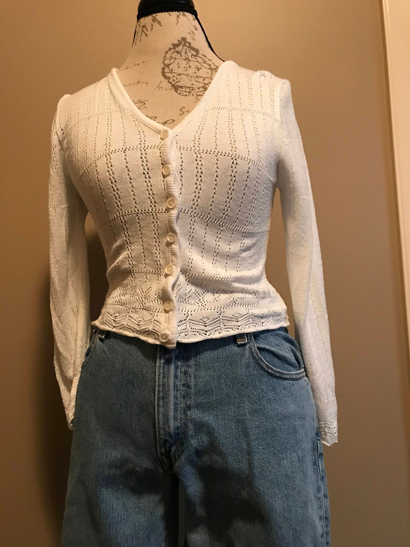 Sweet little white sweater