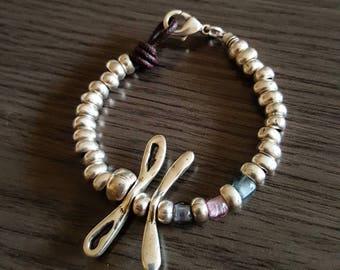 Boho Dragonfly Chic Bracelet. Unode50 inspiration