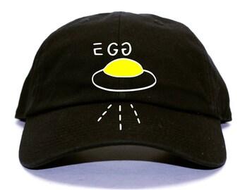 Egg Spaceship Gucci Inspired Black Dad Hat