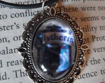 Slytherin Harry Potter Cabochon Necklace