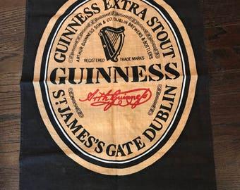 Guinness Linen Print