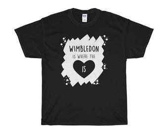 Wimbledon Is Where The Heart Is T-Shirts/Sweaters/Hoodies