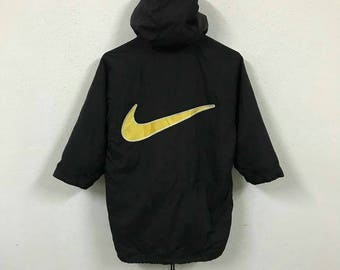 Vintage Nike Big Logo Long Jacket