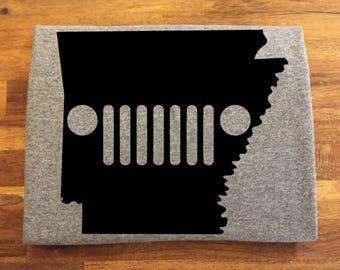 Arkansas Jeep Shirt
