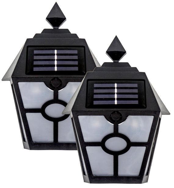 Solar LightWall LightsOutdoor LED Lamp For Garage Door Deck