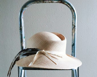 Vintahe Fedora with Feather