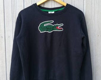 LACOSTE Big Logo Sweatshirt Size S