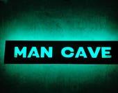 Man Cave Sign, LED sign M...