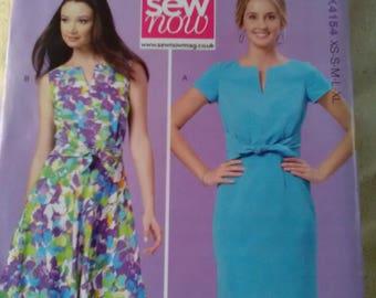 Brand new Kwik Sew sewing pattern 4154 Dress with tie waist sizes XS - XL