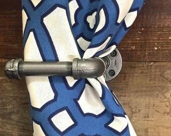 Curtain Tie Backs (Pair) - Vintage Look From Industrial Pipe Fittings