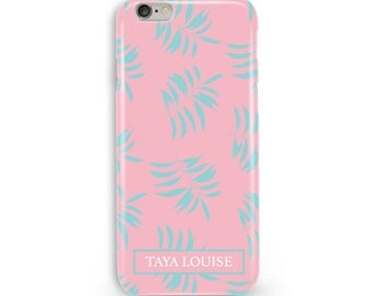 Vacay Palm Print Phone Case, iPhone & Samsung