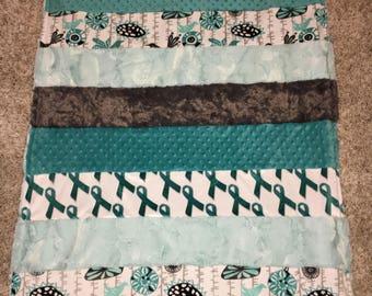 Cancer Minky Blankets