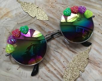 Sunglasses round Rainbow