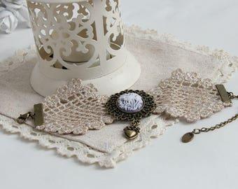 Vintage Lace Bracelets For Women