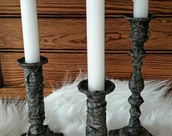 Candlesticks look tough.