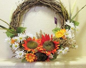 Wild Flower Wreath
