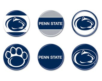 Penn State 6 Pack of Buttons