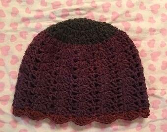 Handmade crochet adult beanie