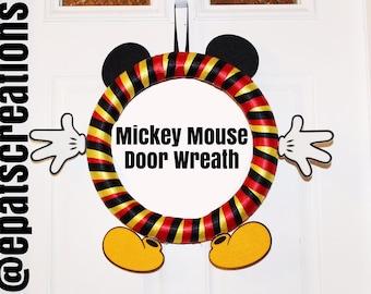 Mickey Mouse Door Wreath