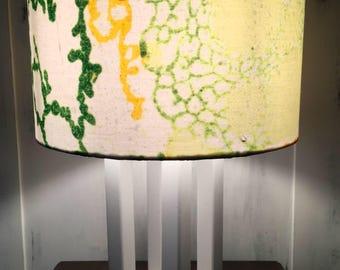 LAMPADA DI LEGNO, abat-jour , lampada da comodino, lampada artistica, lampada fatta a mano, lampada unica, lampada di design