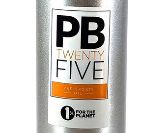 MASSAGE OIL - PB TwentyFive pre-sports massage oil (100ml or 200ml) aromatherapy