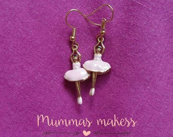 Beautiful ballerina earrings