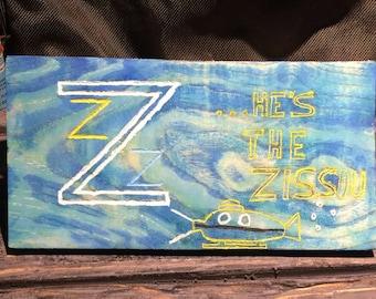Life Aquatic with Steve Zissou Painting