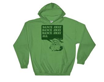 "Christmas Dance Sweatshirt, ""Dance Away All"" Hoodie  | Swing Swag Dancer Gifts"