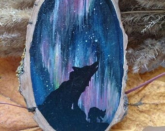 """Magnet """"Northern Lights - Shadow of the Wolf"""""""
