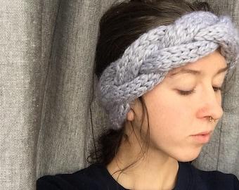 The Big Braid Headband | Cabled headband | Headwrap | Ear Warmer