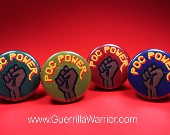People of Color Power (1.25 inch Pin/Button)