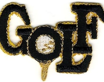 Golf Word Patch