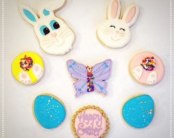 Easter Cookies - qty 12