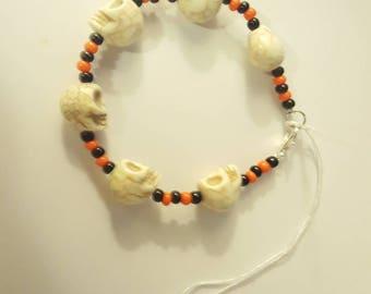 Halloween Skulls Bracelet